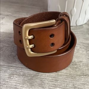 BANANA REPUBLIC Leather Belt, Size XS